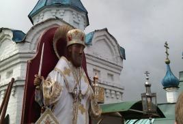 Ежегодный крестный ход с чудотворным образом свт. Николая Мир Ликийских Чудотворца